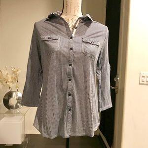 Anthro Eden & Olivia Button Down Shirt